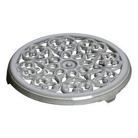 Staub Cast Iron, 9-inch, round, Trivet, graphite grey
