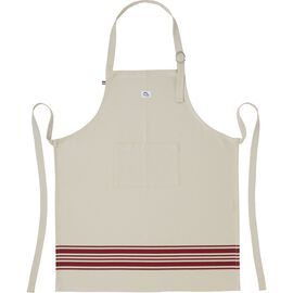 Staub French Line, 85 cm x 70 cm Kitchen apron, Red