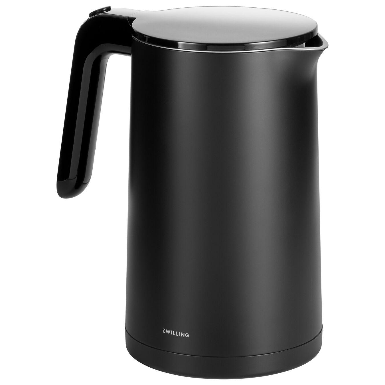 Wasserkocher, 1,5 l, Schwarz,,large 1