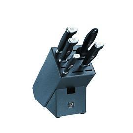 ZWILLING TWIN Four Star II, 6-pcs Set de blocs couteaux