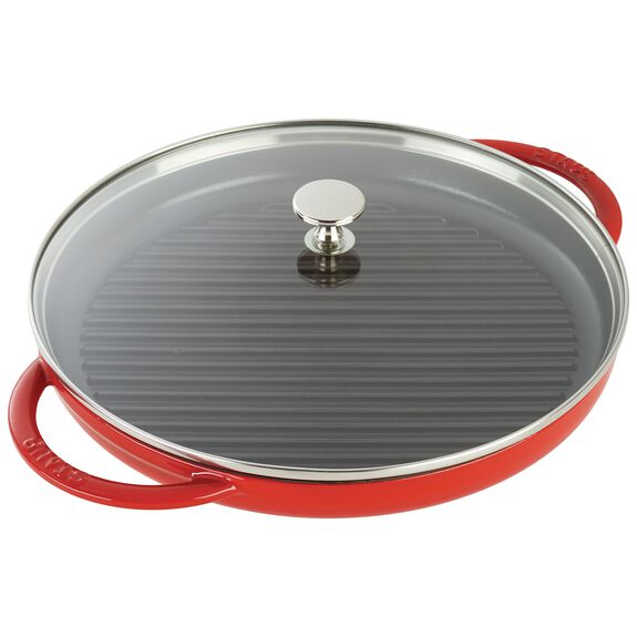 12-inch Enamel Steam Grill,,large 2