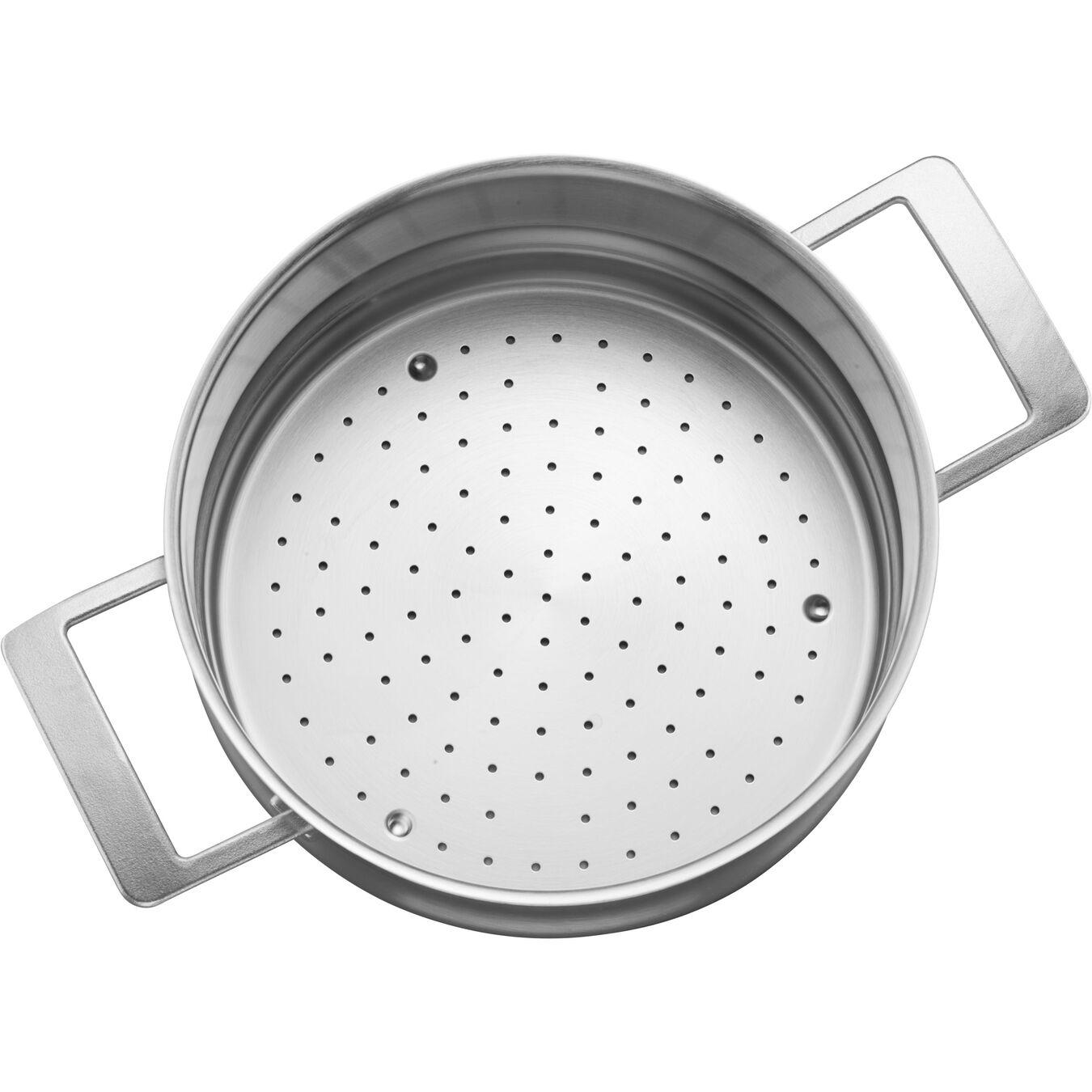 24 cm 18/10 Stainless Steel Insert pour casserole et poêle,,large 2