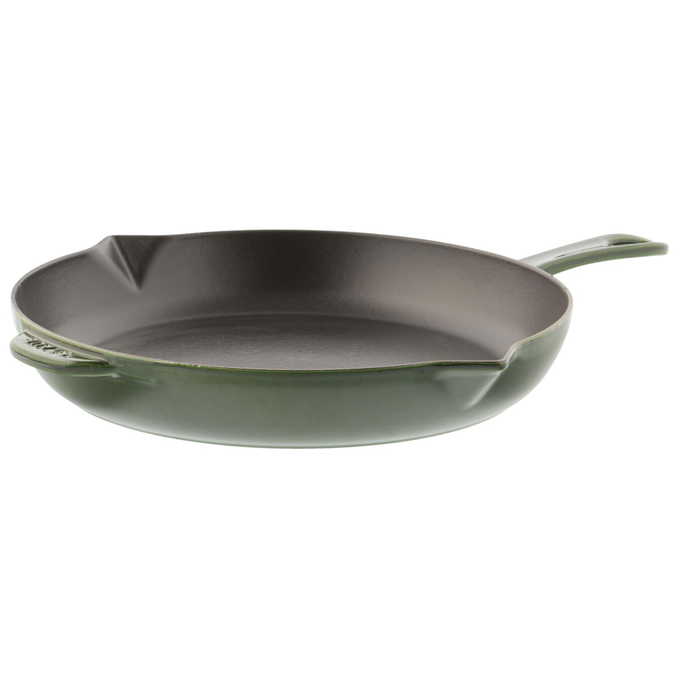 12-inch, Frying pan, basil,,large 1