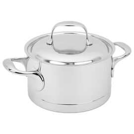 Demeyere Atlantis, 2,25 l 18/10 Stainless Steel Faitout with lid