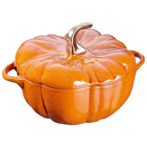 3.5-qt-/-24-cm Pumpkin Cocotte, Cinnamon,,large 2