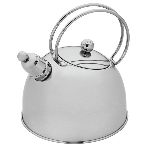 2.6-qt Stainless Steel Whistling Tea Kettle, , large