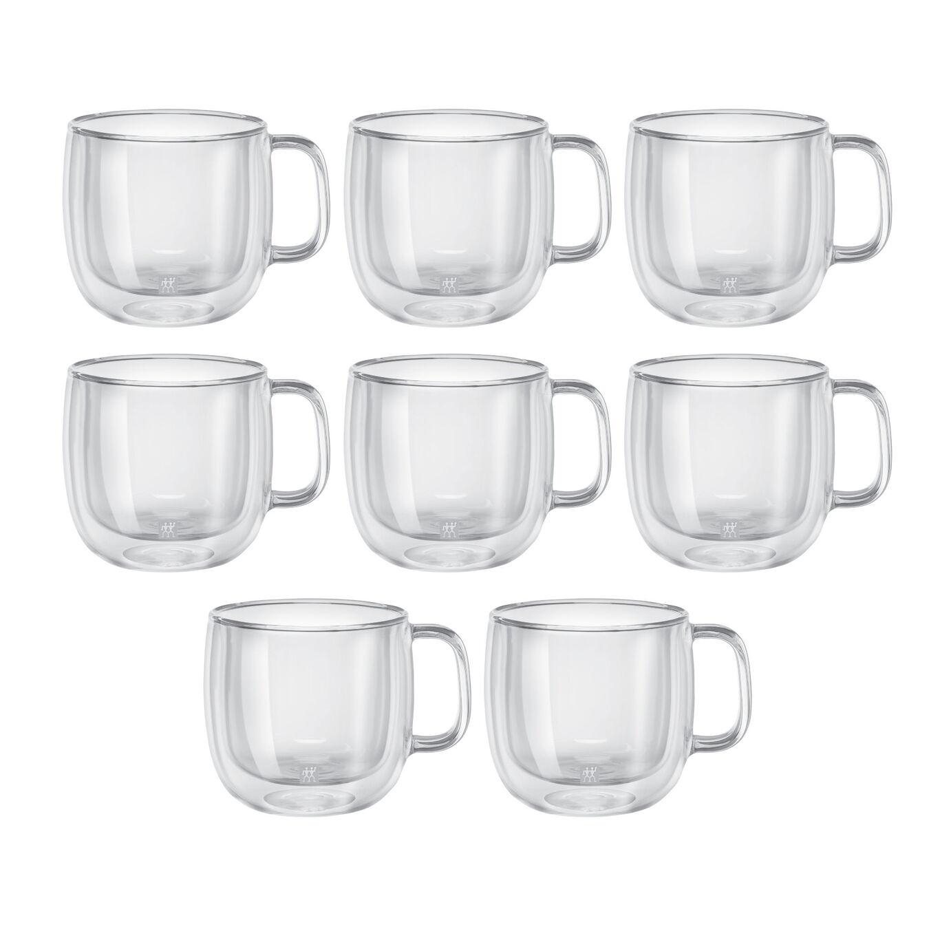 8 Piece Cappuccino Mug Set - Value Pack,,large 3