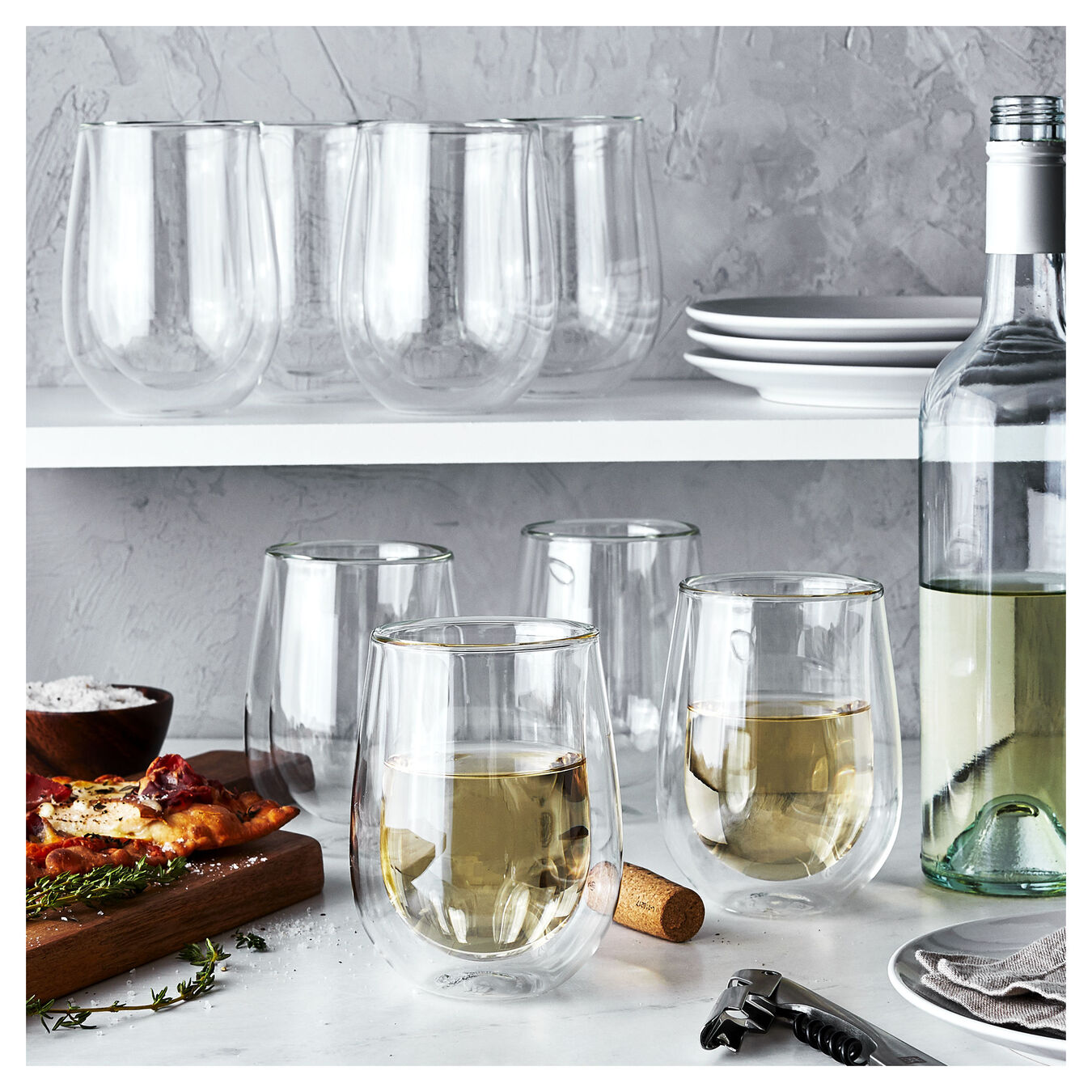 94807 / 1, Double wall glas Sommelier set,,large 4