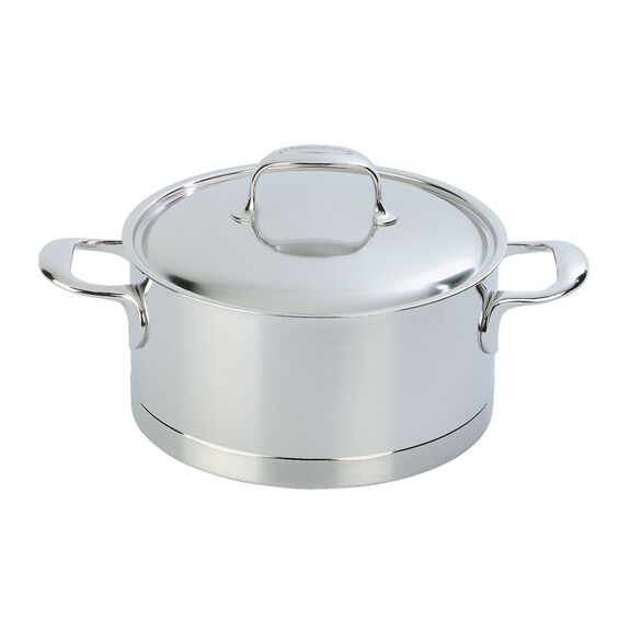 4.2-qt Stainless Steel Dutch Oven,,large 2