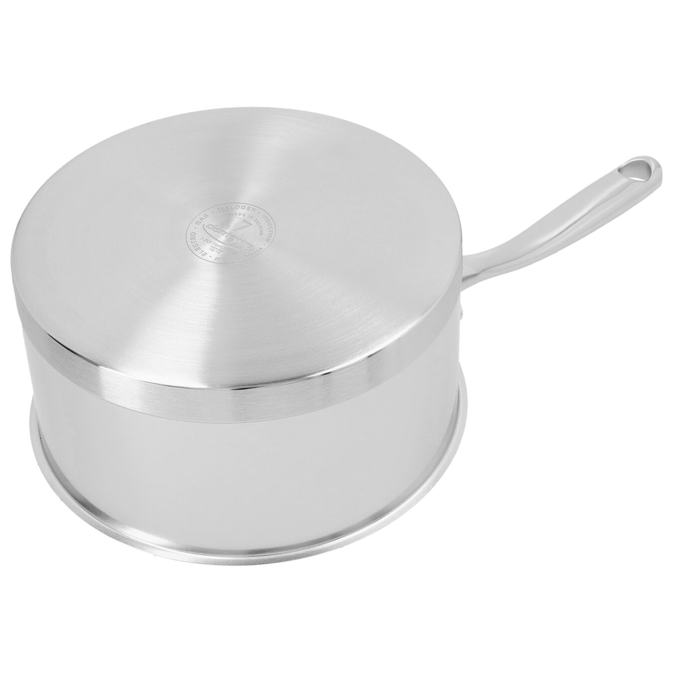 2.25 qt Sauce pan with lid, 18/10 Stainless Steel ,,large 2