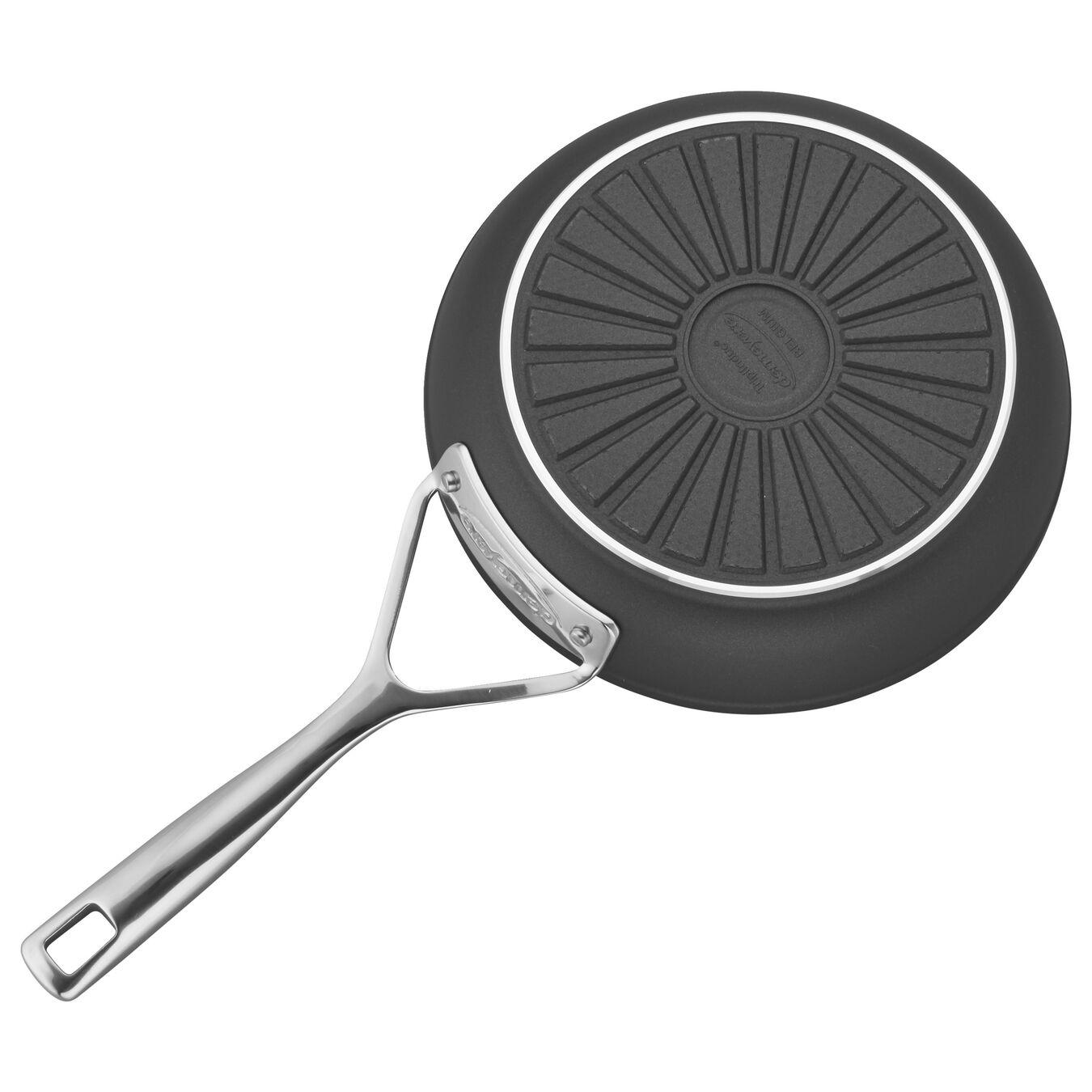 Poêle 20 cm, Aluminium, Silver-Black,,large 2
