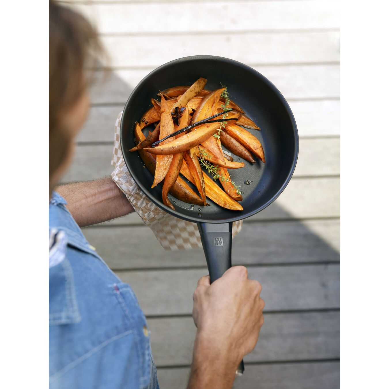2-pc, Non-stick, Aluminum Fry Pan Set ,,large 10