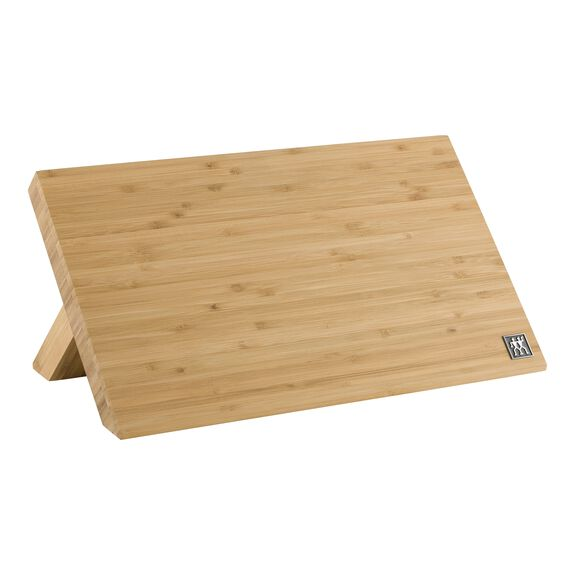 Bamboo Magnetic Easel - holds 9 knives,,large