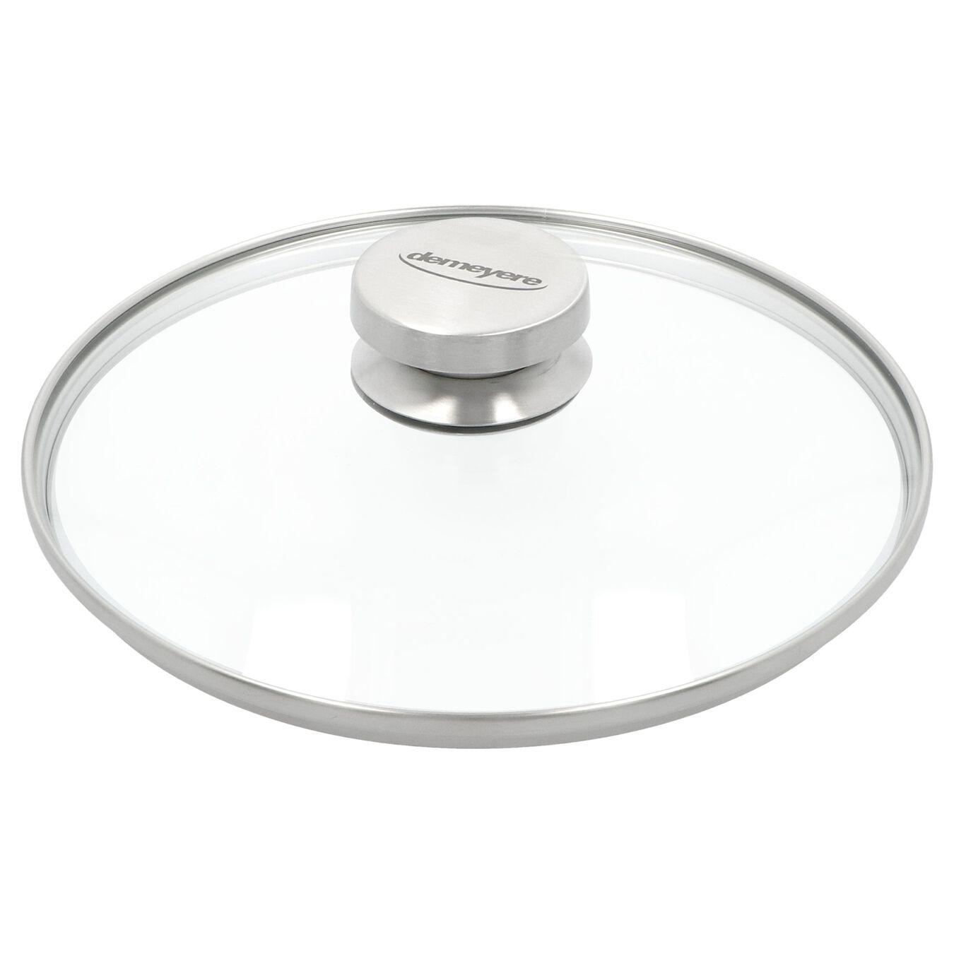 Coperchio - 22 cm, vetro,,large 1