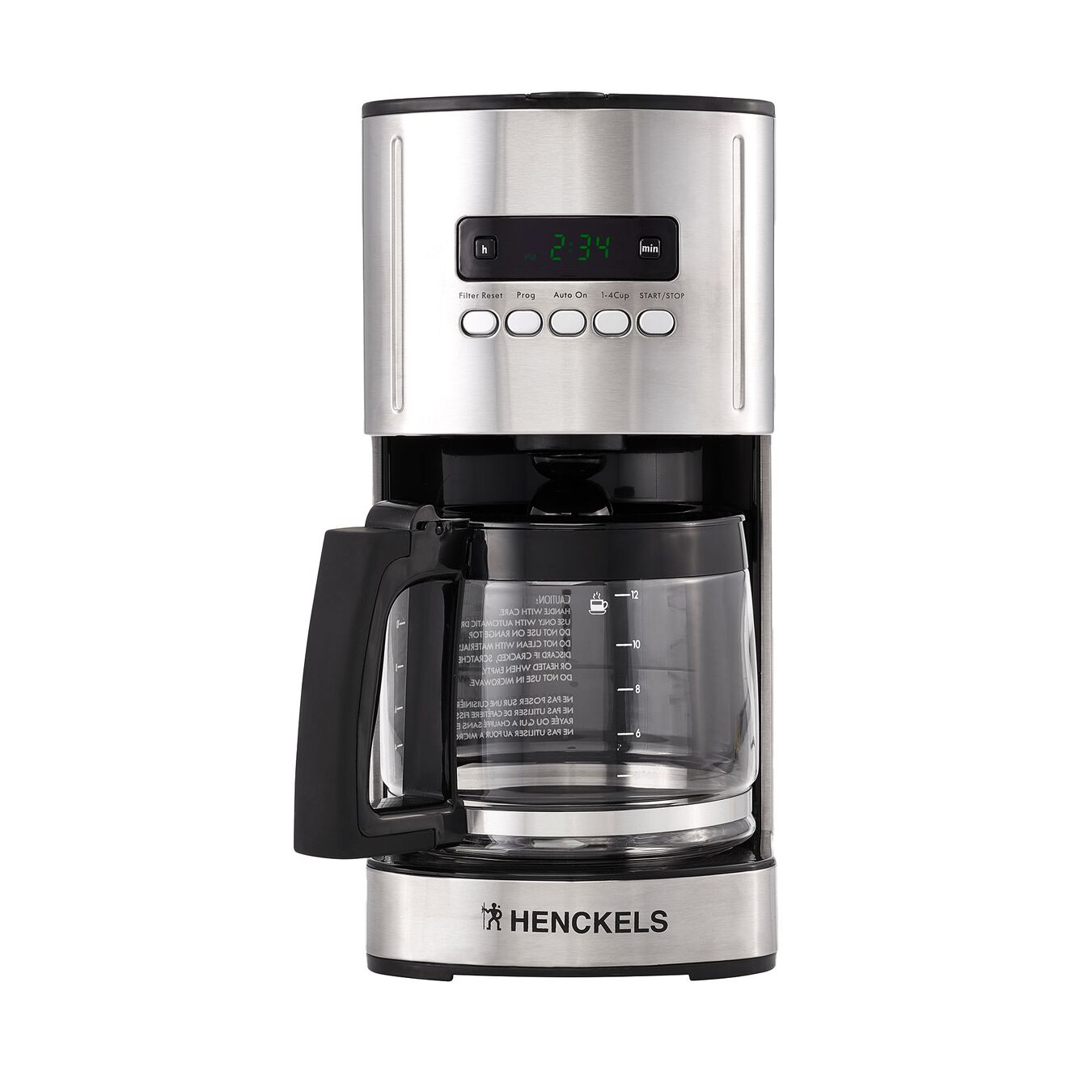 2.2-l Drip coffee maker silver-black,,large 1
