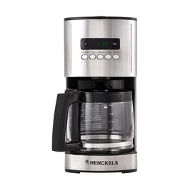 2.2-l Drip coffee maker silver-black