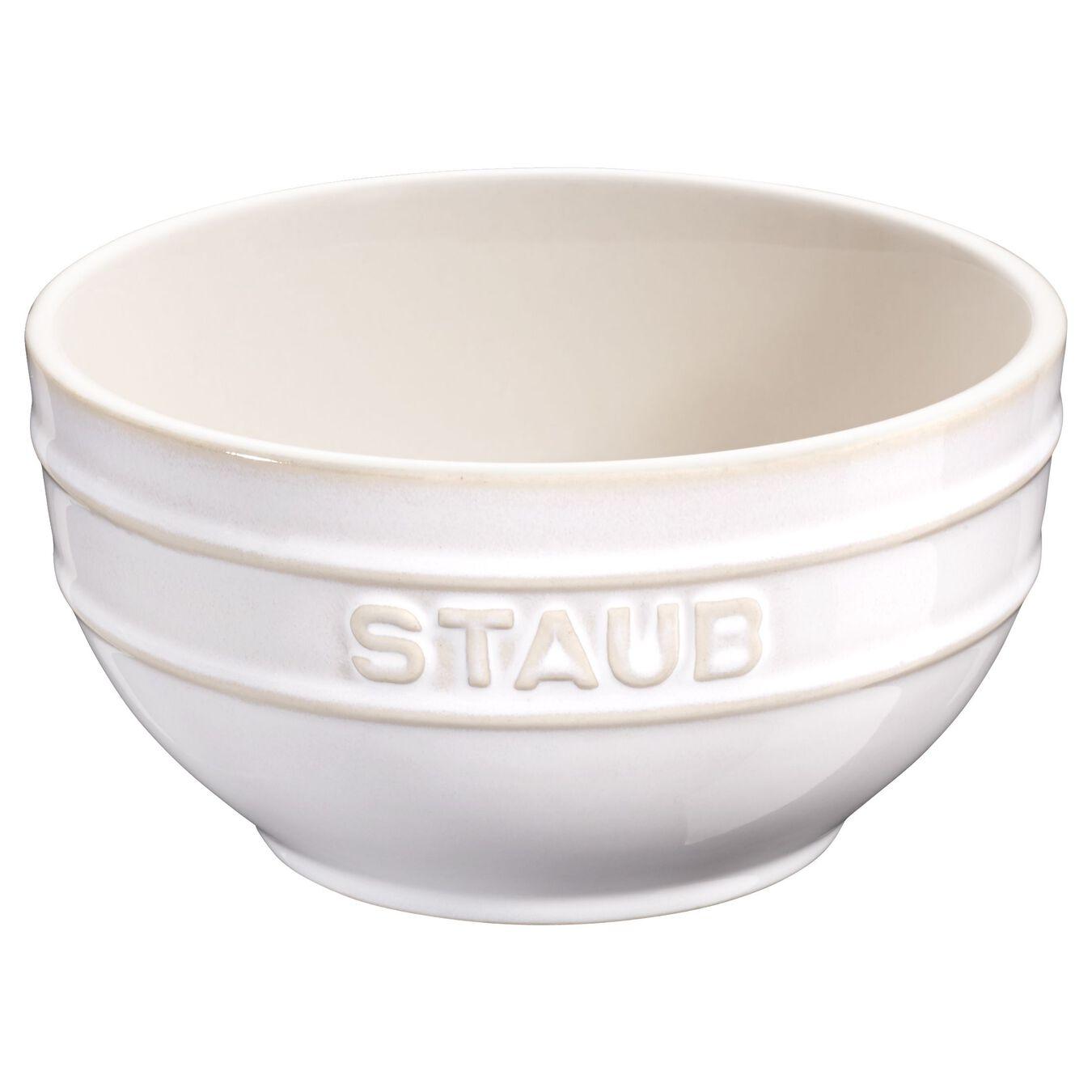 Schüssel 17 cm, Keramik, Elfenbein-Weiß,,large 1