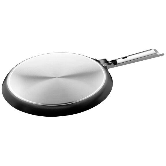 10-inch round PTFE Pancake pan, Black,,large 4