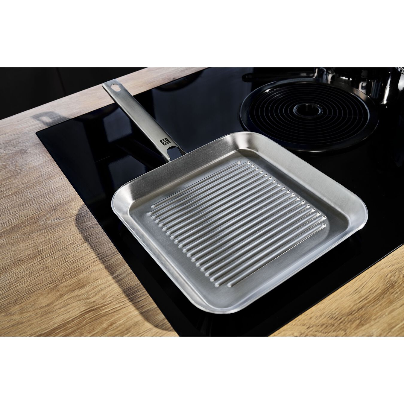 24CM 3-Ply Stainless steel GRILL PAN,,large 3