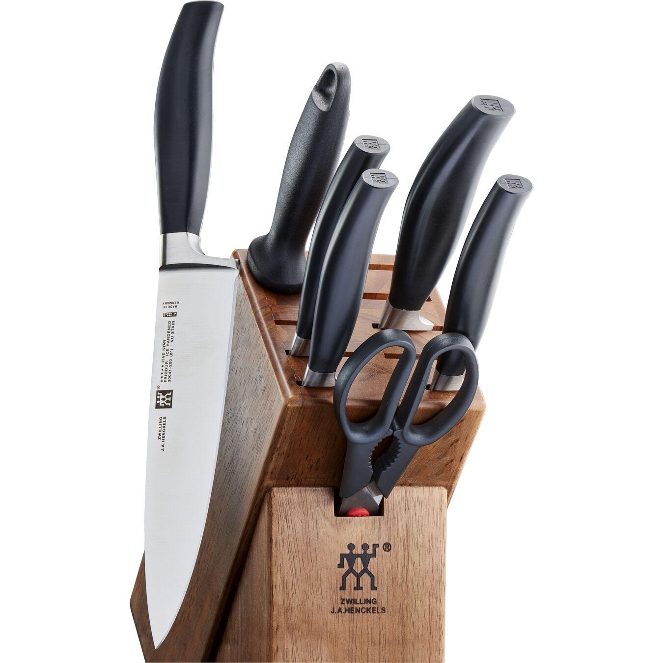 8-pcs Set de blocs couteaux,,large 1