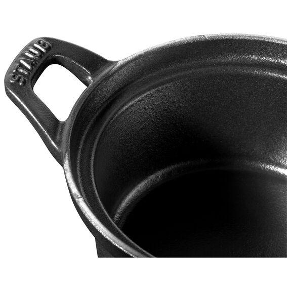 12-cm-/-4.5-inch round La Coquette, Black,,large 3