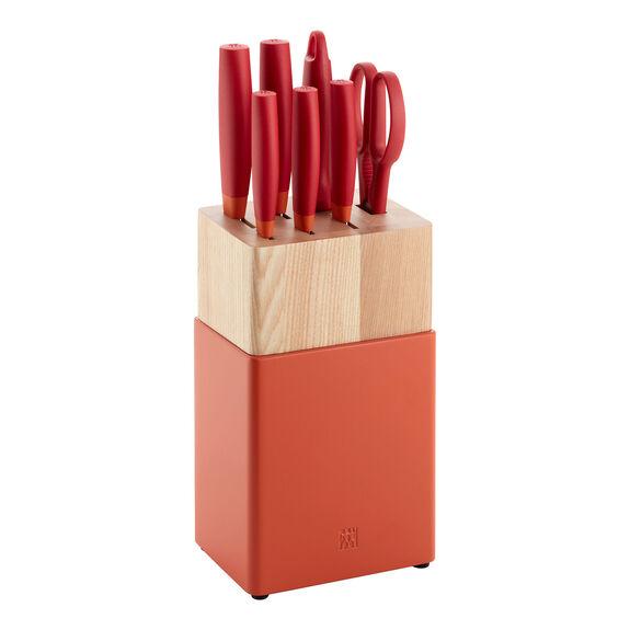 8-pc Knife Block Set - Grenada Orange,,large