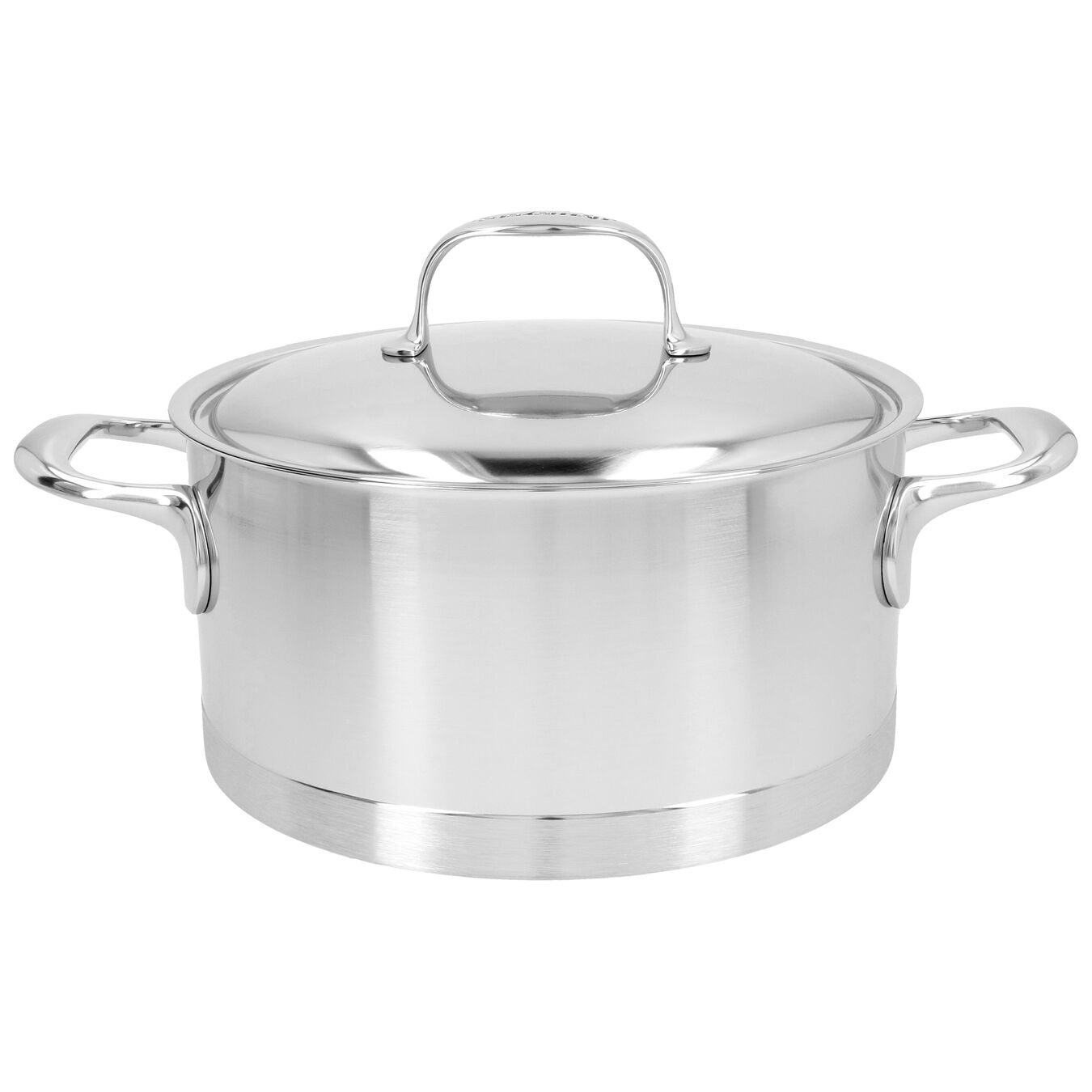 4.25 qt, 18/10 Stainless Steel, Stew pot with lid,,large 1
