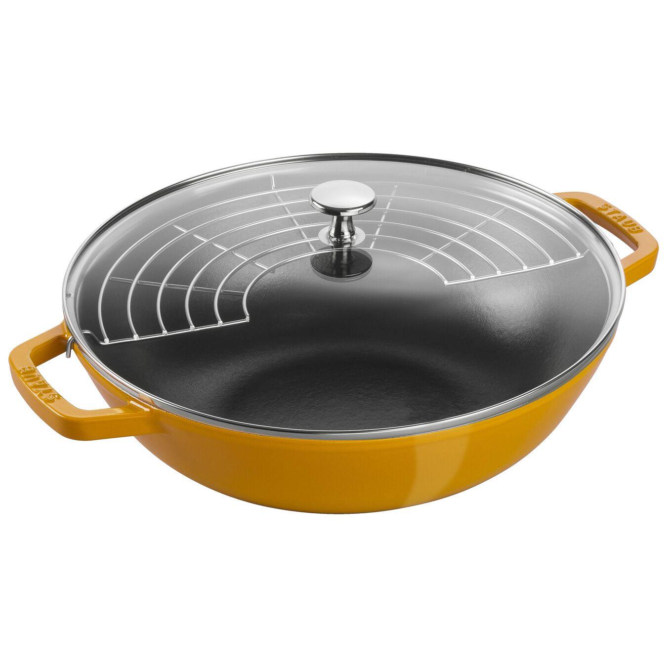 4.75 qt, Wok, Saffron,,large 1