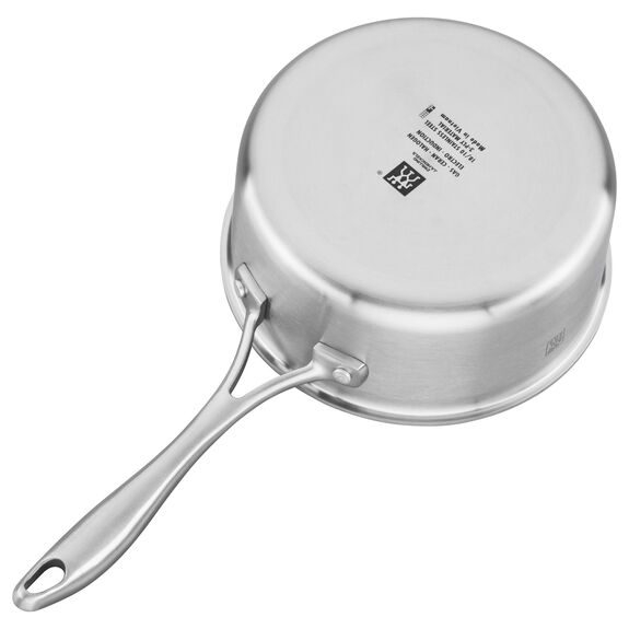 3-ply 2-qt Stainless Steel Ceramic Nonstick Saucepan,,large