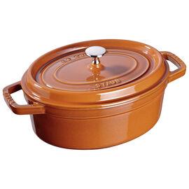 Staub La Cocotte, 5,5 l Cast iron oval Poêle à frire en fonte, Cinnamon