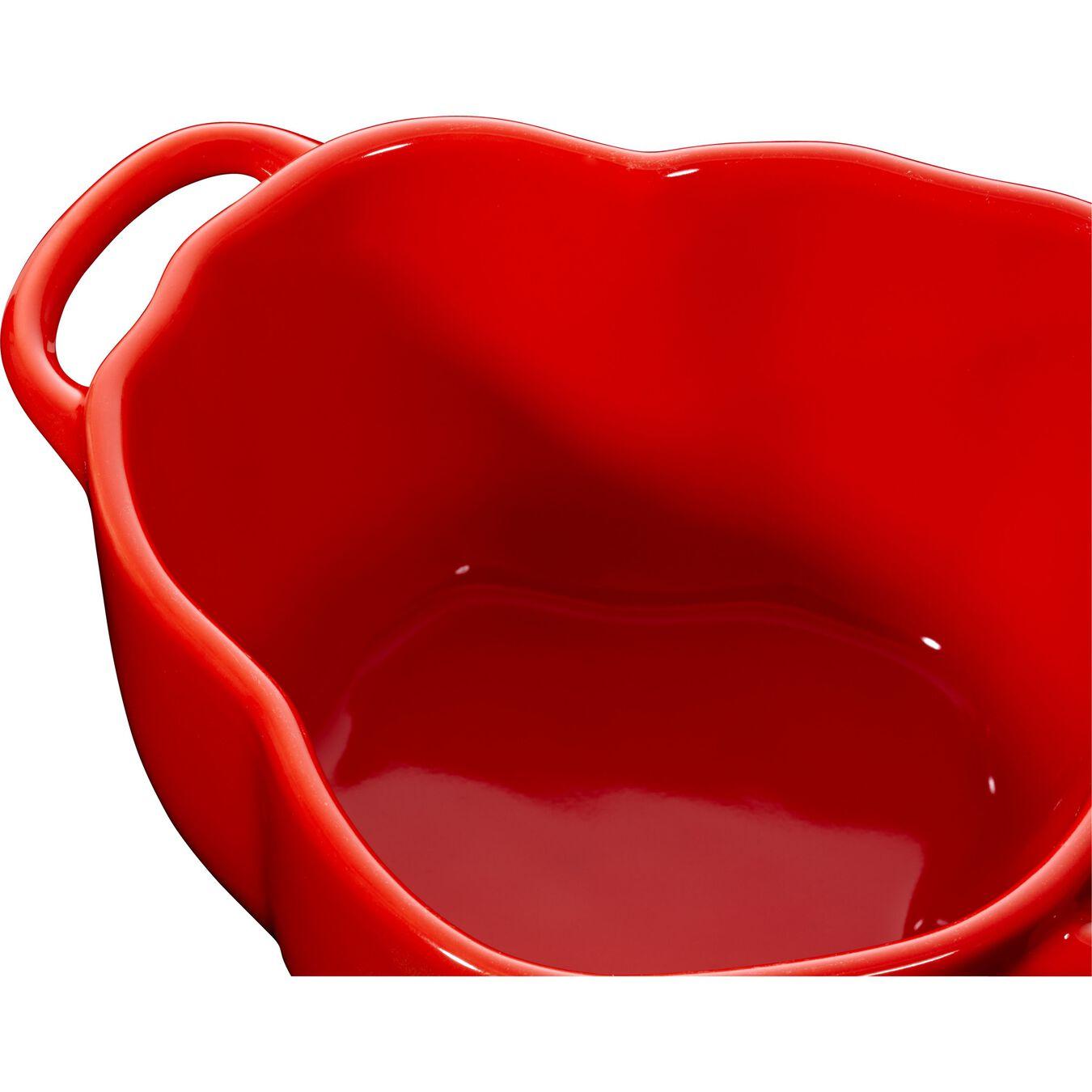 Cocotte 12 cm, Paprika, Orange-Rot, Keramik,,large 4
