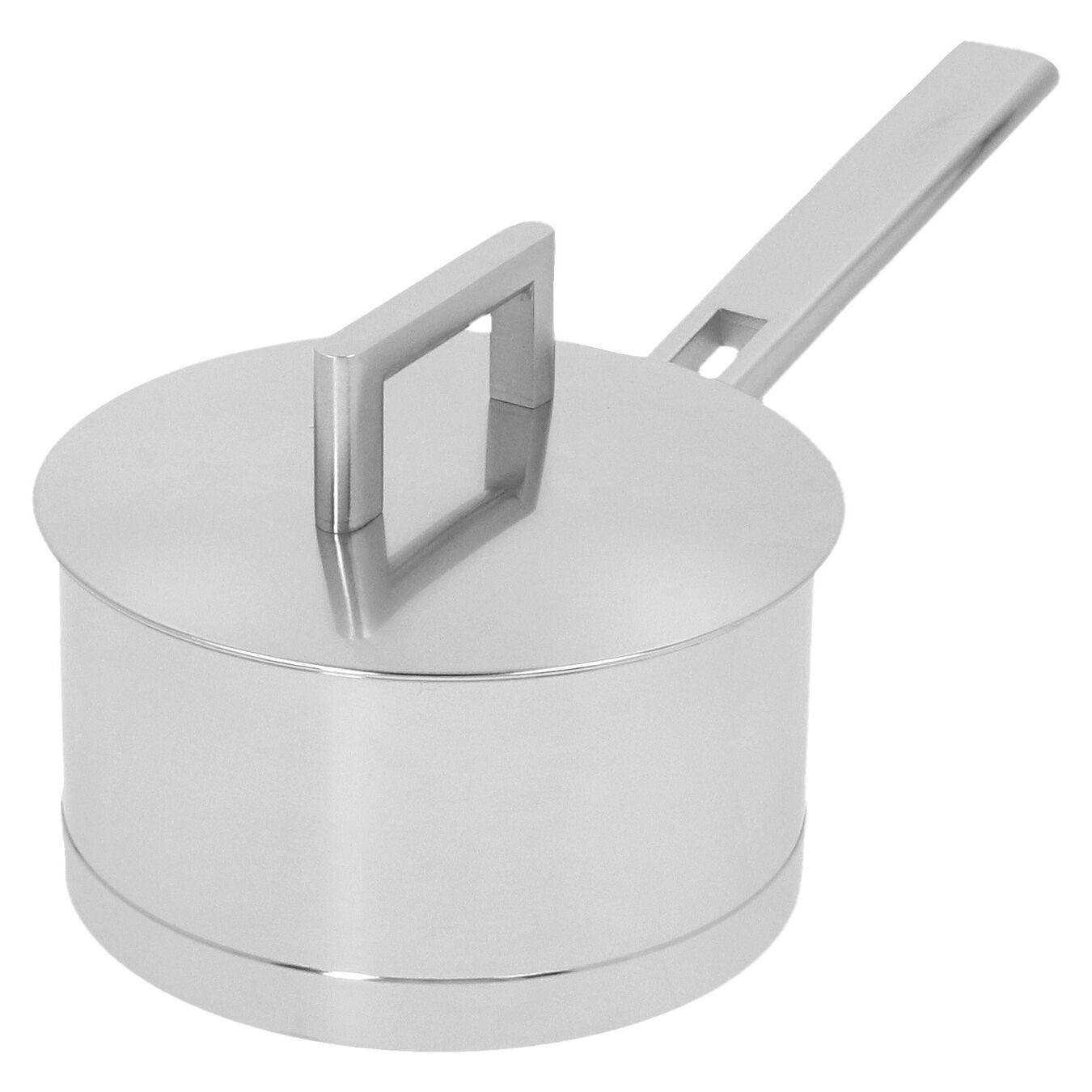 1.1 qt Sauce pan with double walled lid, 18/10 Stainless Steel ,,large 6