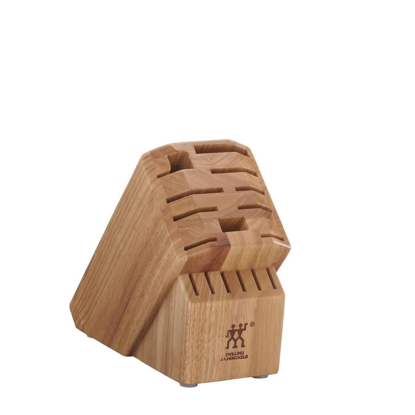 Rubberwood Natural 16-slot block,,large 1