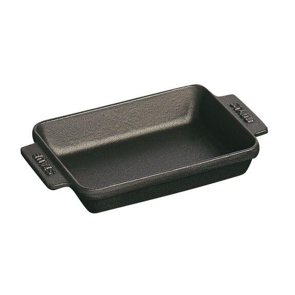 5.75-inch x 4.5-inch Mini Rectangular Baker - Matte Black,,large 2