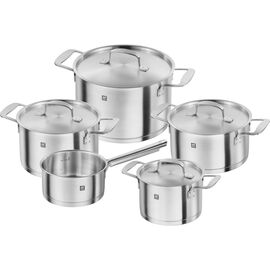 ZWILLING Base, Ensemble de casseroles 5-pcs, Inox 18/10