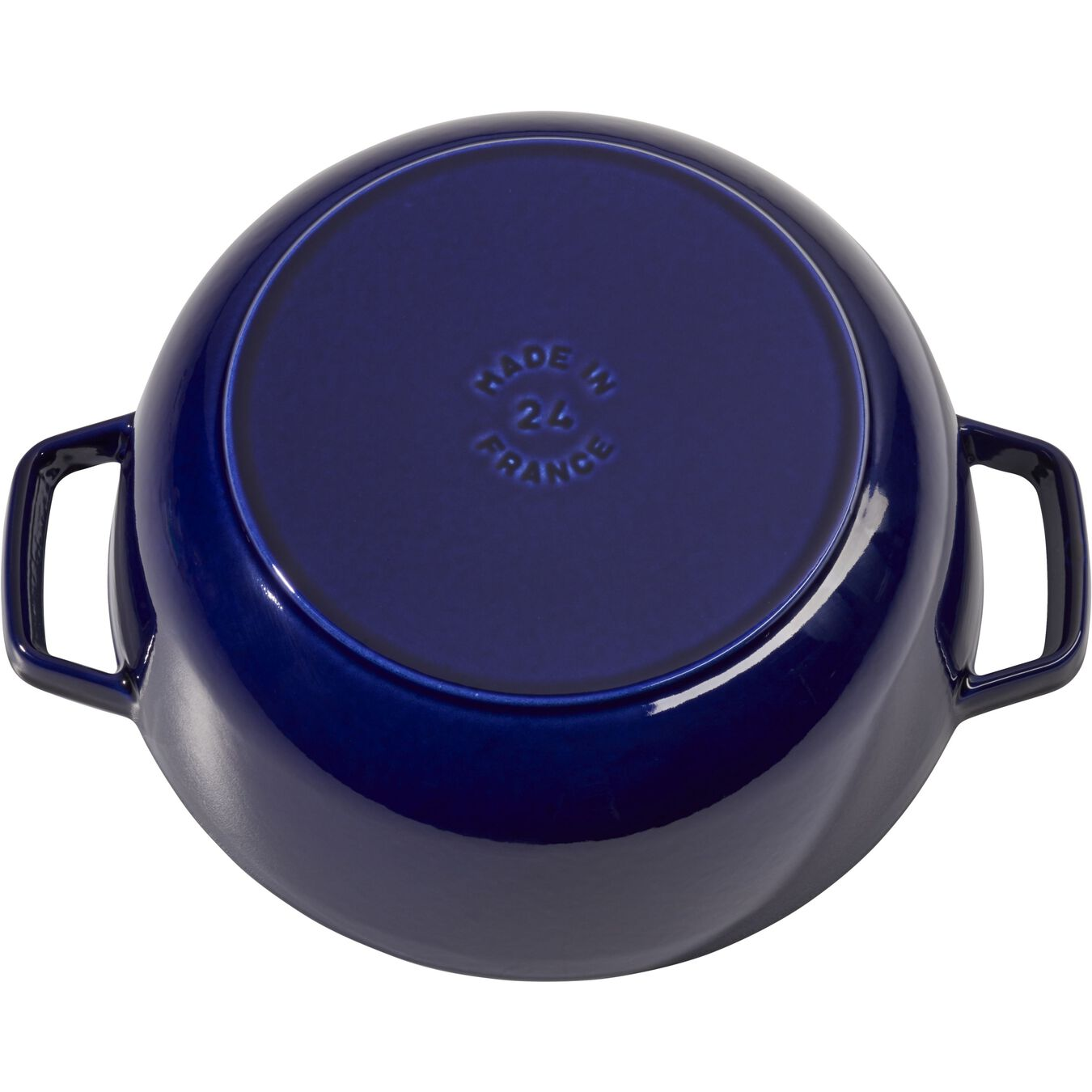 3.75-qt Essential French Oven - Dark Blue,,large 4