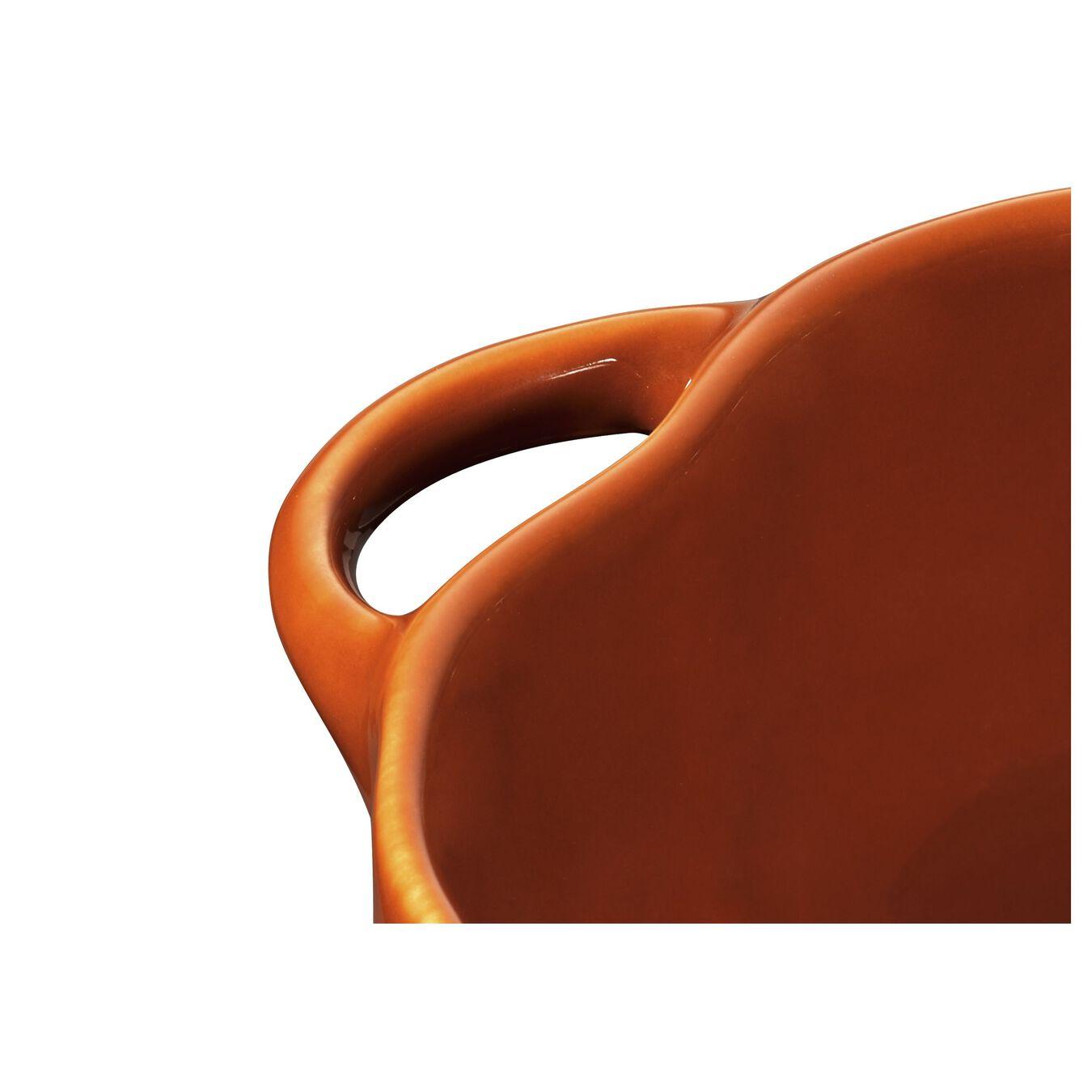 500 ml Ceramic pumpkin Cocotte, cinnamon,,large 3