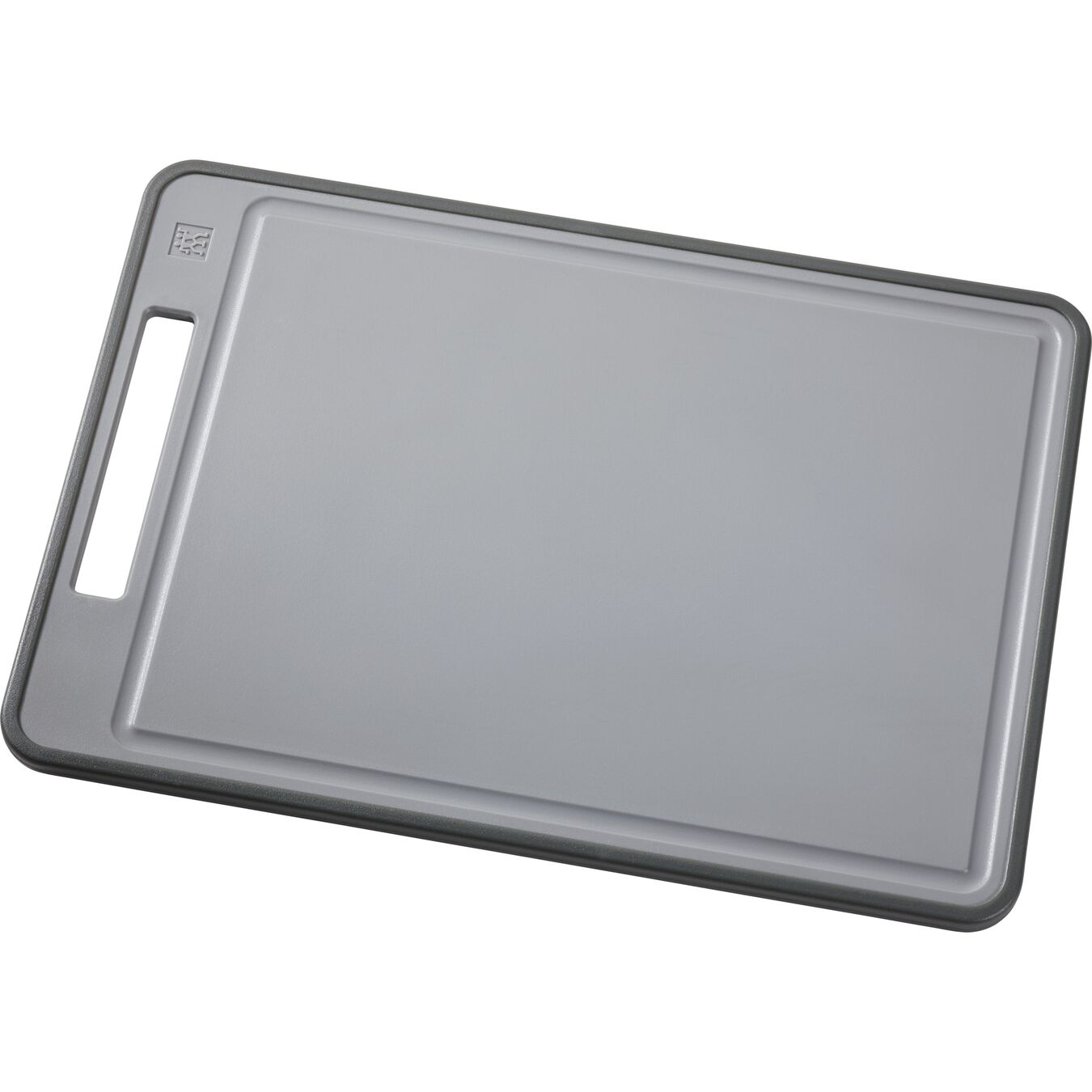 Tagliere - 43 cm x 30 cm, grigio,,large 1
