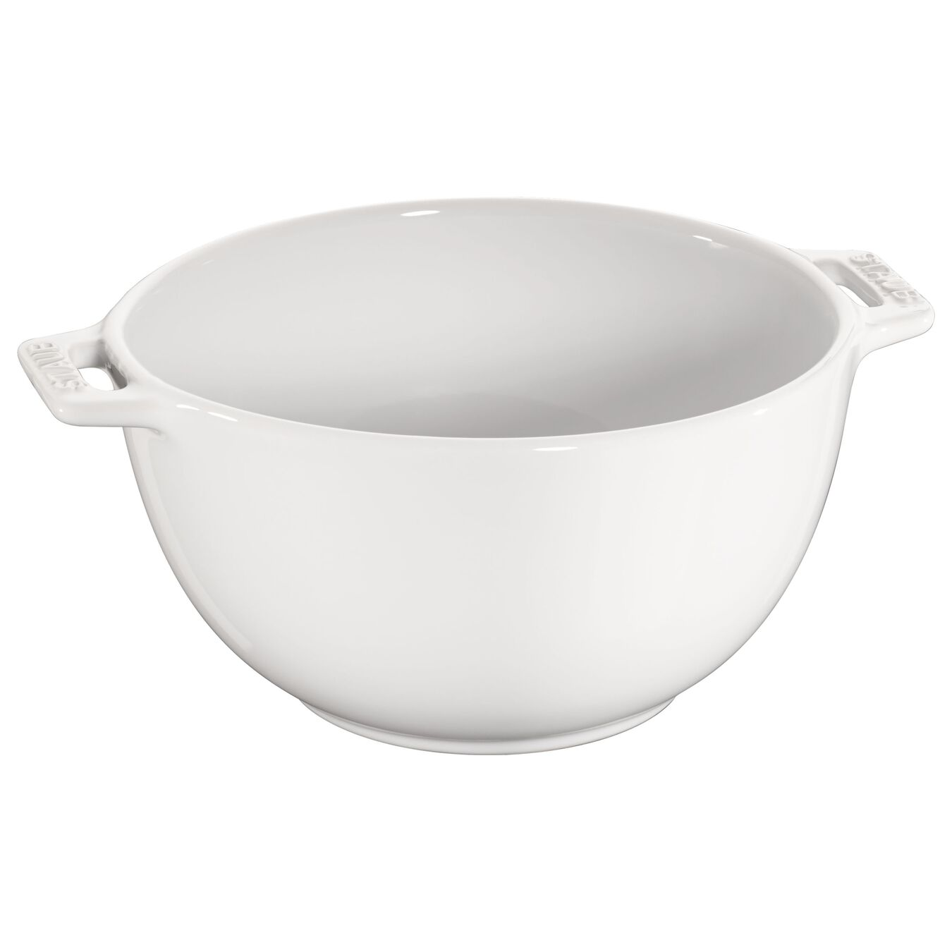 Bowl 18 cm, Cerâmica, Branco puro,,large 1