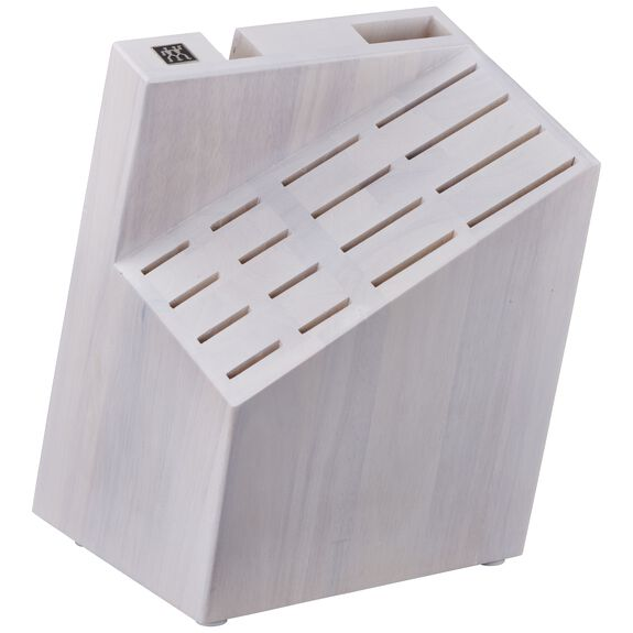 Knife block empty Wood,,large 3