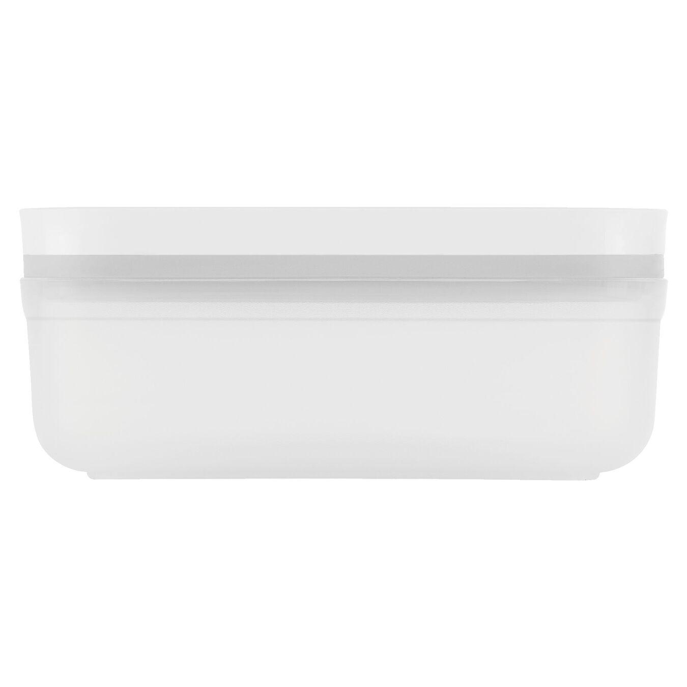 Contenitore sottovuoto - S, plastica, bianco,,large 3