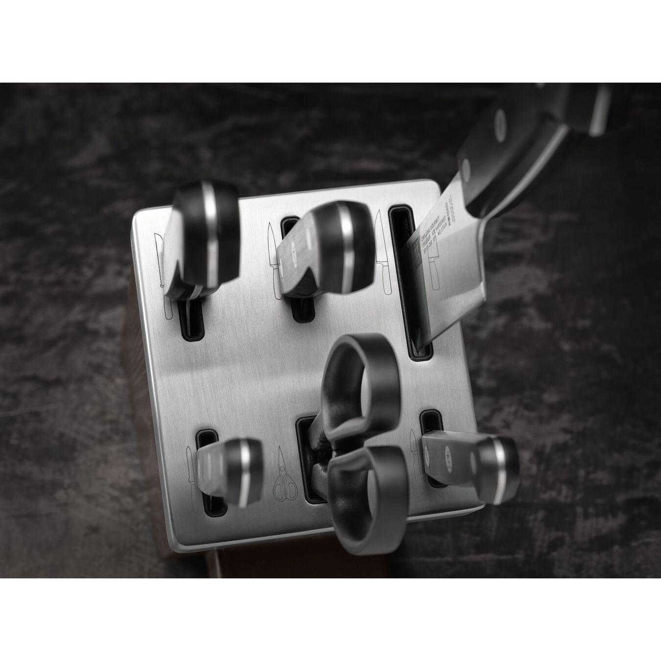 Blok Bıçak Seti Kendinden Bilemeli | dişbudak ağacı | 7-parça,,large 5