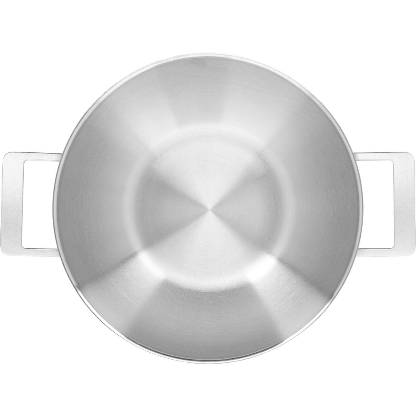 Wok met 2 handgrepen Zilver 30 cm,,large 5