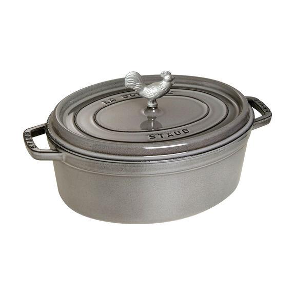 4.25-qt Cocotte, Graphite Grey,,large