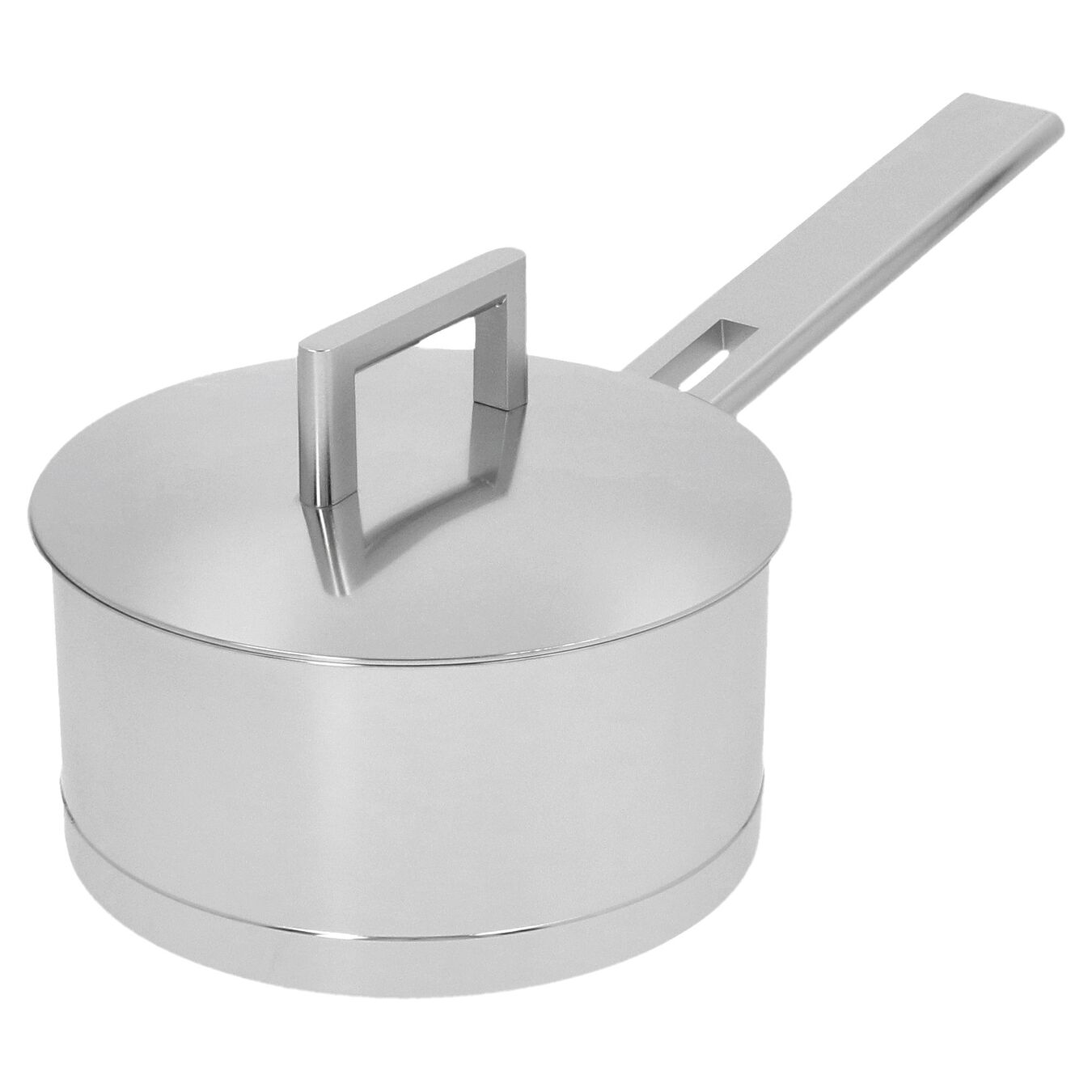 1.6 qt Sauce pan with double walled lid, 18/10 Stainless Steel ,,large 6
