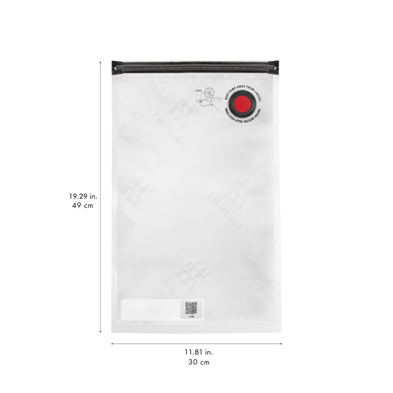 Set di sacchetti sottovuoto - 3-pz., plastica,,large 2