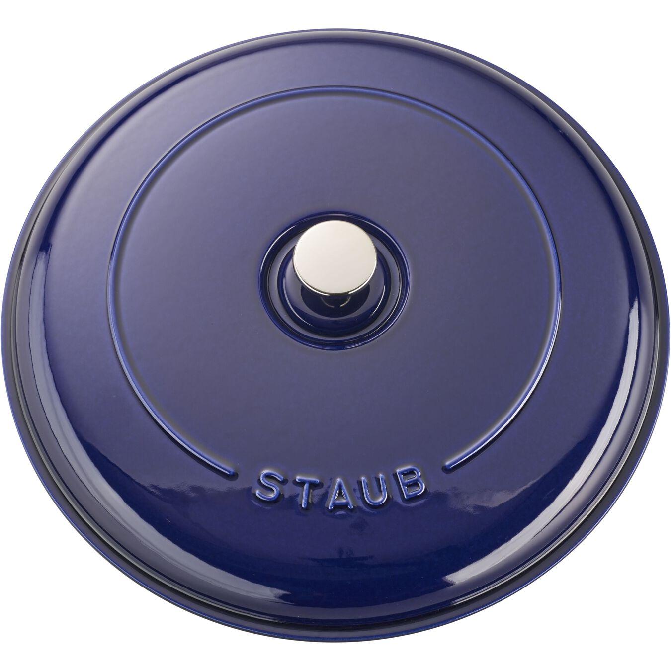 3.5 l round Saute pan, dark-blue,,large 3