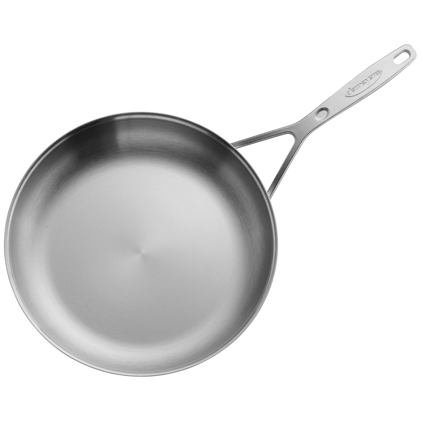 11-inch Stainless Steel Fry Pan,,large 4