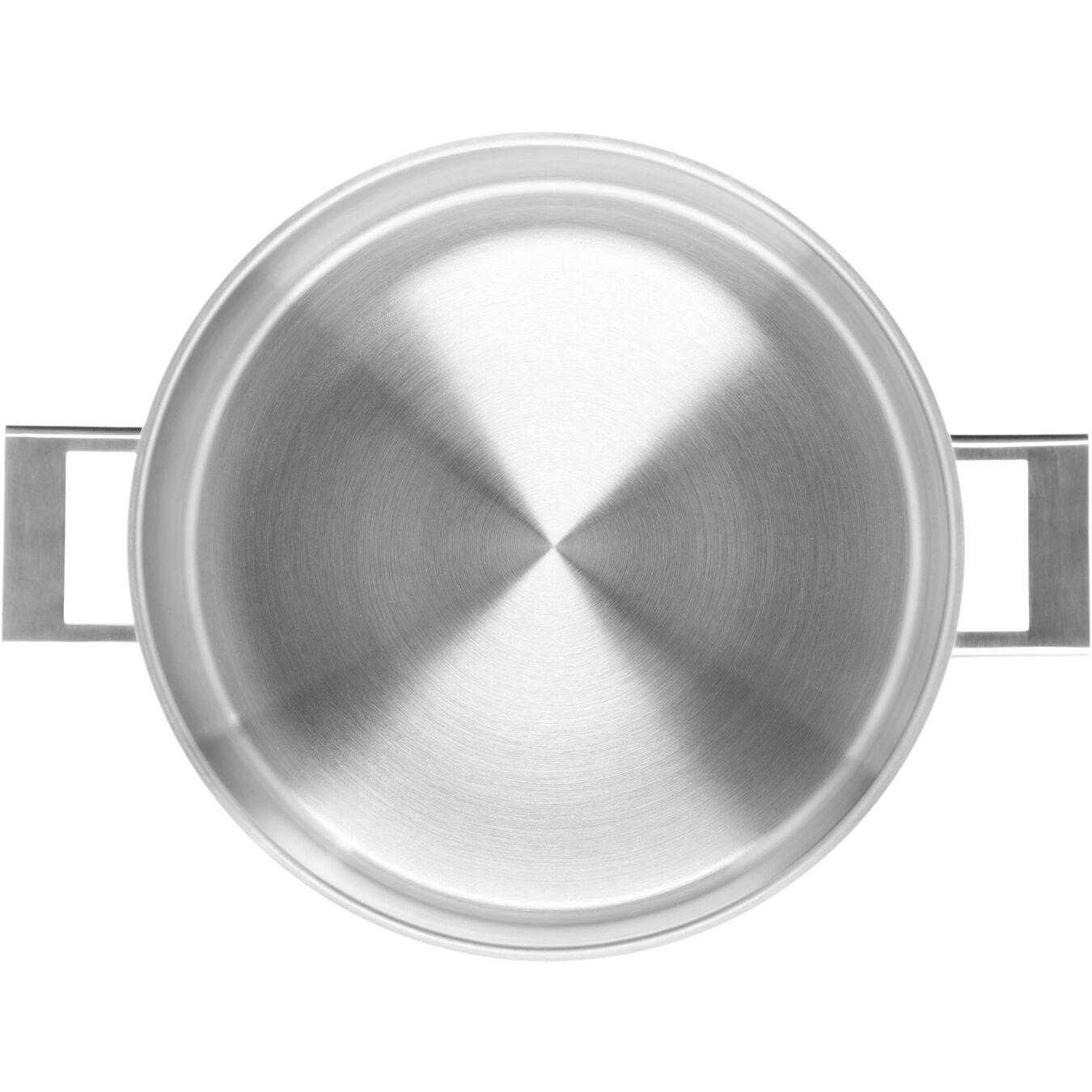 Casseruola con coperchio a doppia parete - 28 cm, 18/10 acciaio inossidabile,,large 2