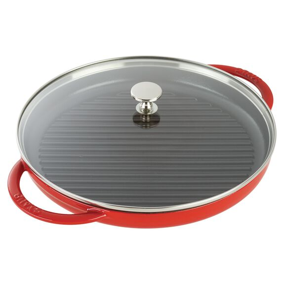 12-inch Enamel Steam Grill,,large 3
